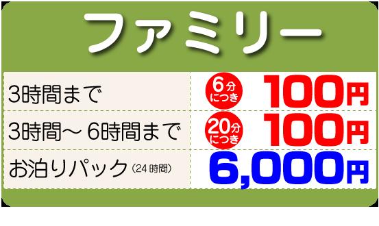 100円レンタカーファミリー